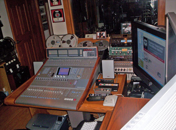 Phantom Productions recording studio