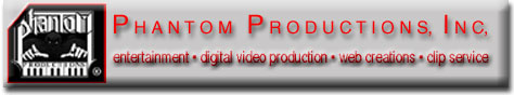 picture of Phantom Productions logo