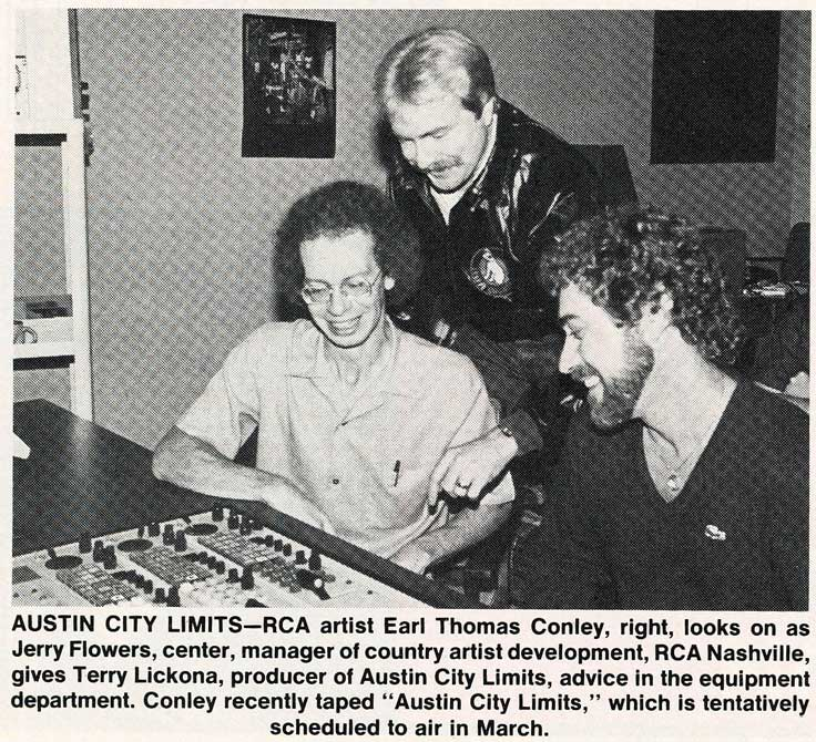 Terry Lickona, producer , Austin City Limits