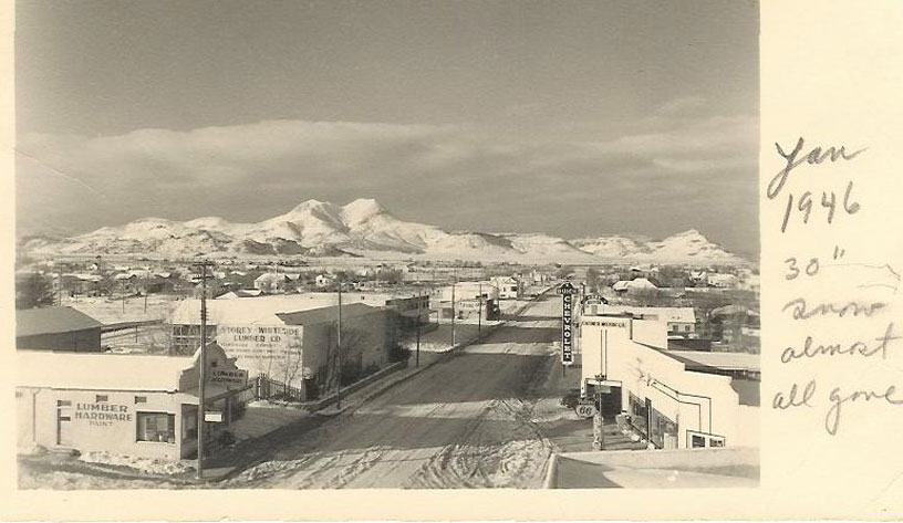 picture of 1946 snow