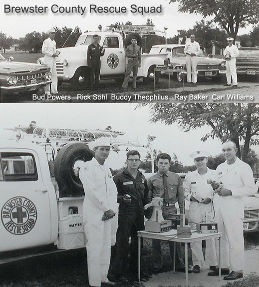 picture of Brewster County Rescue Squad 1962