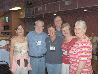 Carol, Martin, Chris, Donna, Larry, Sue