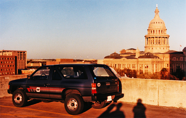 Chris' Pathfinder at the Texas State Capitol