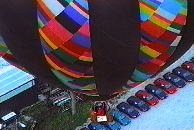 1991 Maryland Preakness Celebration hot air balloon photo