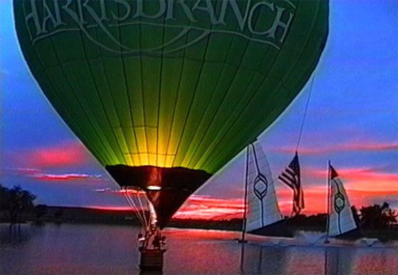 picture from Phantom's hot air balloon video Sunrise Sunset I
