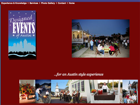 DEAustin web home page