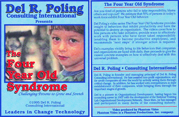 Phantom Productions, Inc.'s cover of the Four Year Old Syndrome for Del R. Poling