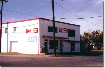 Accurate Sound building in San Angelo in 2003