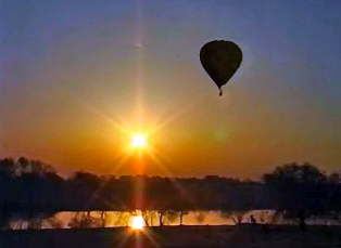 Phantom Productions' time lapse hot air ballooning video produced for MCET and NASA