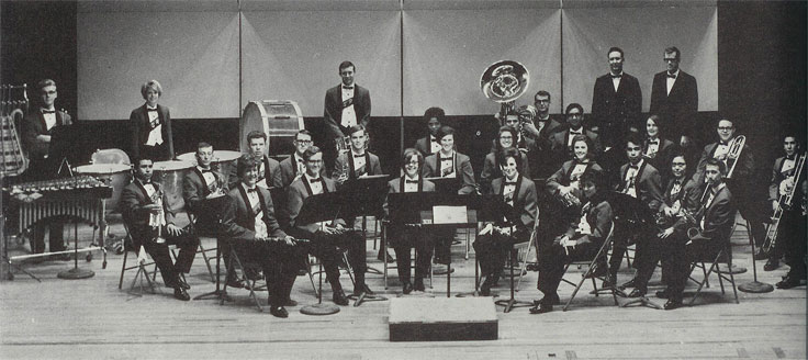 The Sul Ross Orchestra in the late 1960's