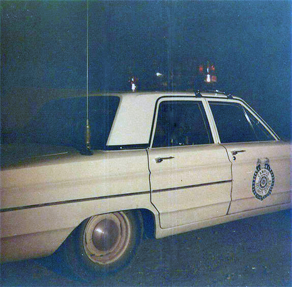 Sul Ross Security Chief's police car