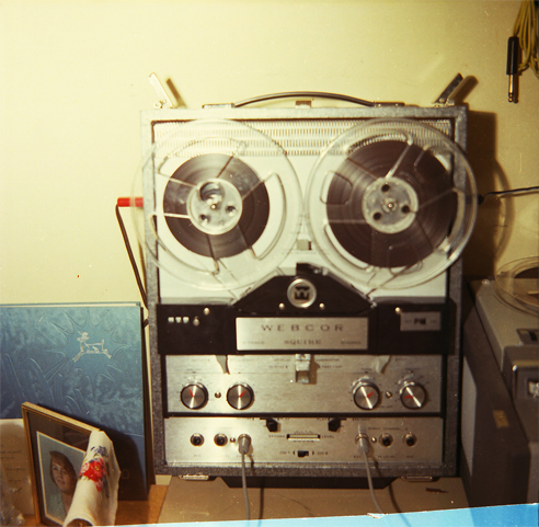 Webcor reel tape recorder