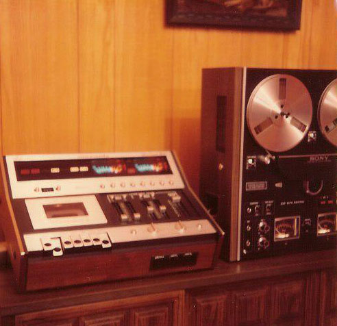 Martin's Marantz 5420 and Sony 580