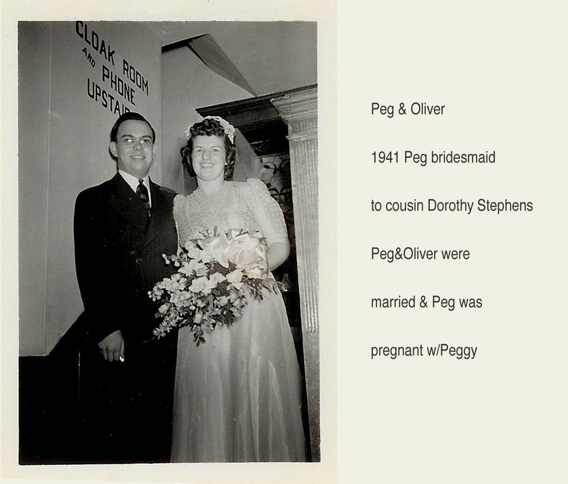 Peg and Oliver 1941