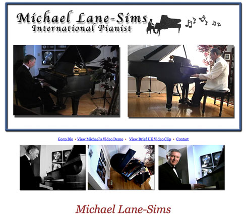 Michael Lane Sims  Home Web Page