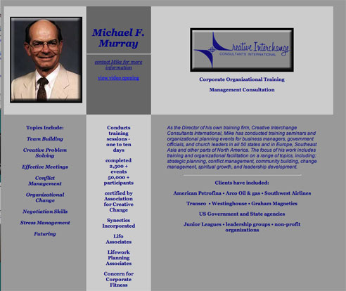 Michael F. Murray's  Home Web Page