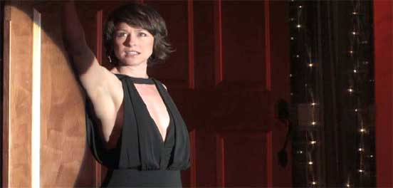 Paige Davis performs at the Cabaret Theatre