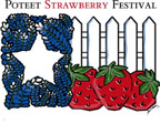 picture of Poteet Strawberry Festival logo design
