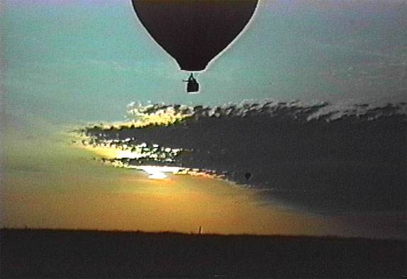 hot air balloon video catalog item Sunrise Sunset III