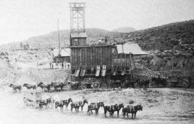 Shafter, Texas in the 1890's