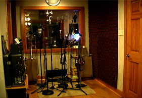 Phantom Productions recording room