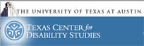 logo of Texas Center for Disability Studies
