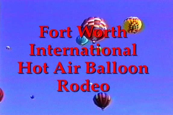 balloons flying near Ft. Worth, Texas