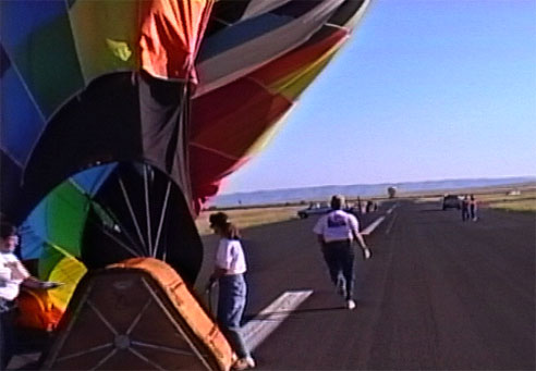 Hot Air Balloons in Alpine Texas rally 1997