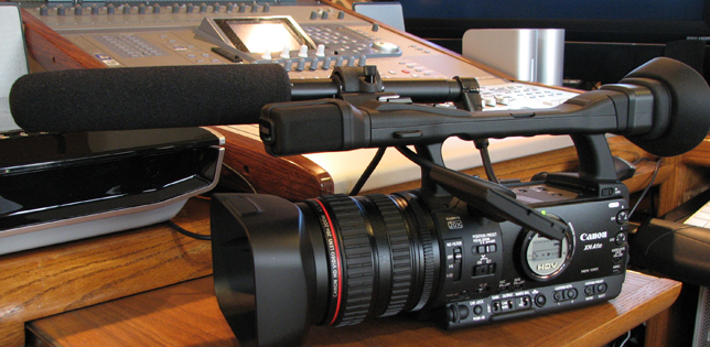 Canon XH A1s in Phantom productions' equipment