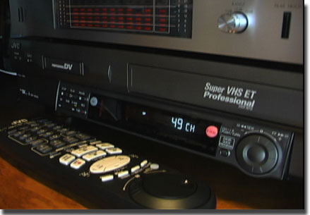 picture of JVC SR-VS30 DV & SVHS pro editing VCR
