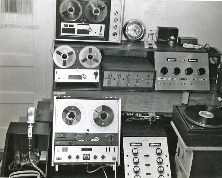 Phantom productions, Inc. / Highland Sound Company euipment in 1965