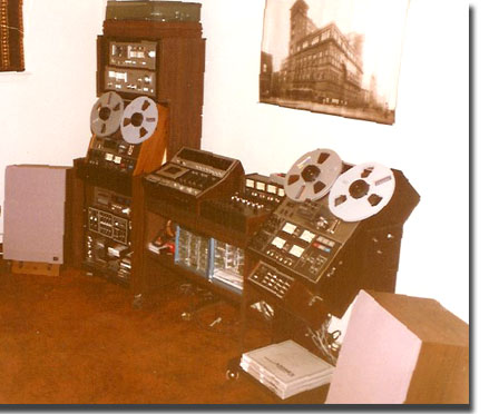 picture of Phantom's editing set-up in El Paso, Texas