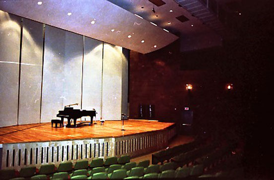 Phantom recording seesion at University of Texas in 1983