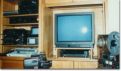 late '80's editing suite