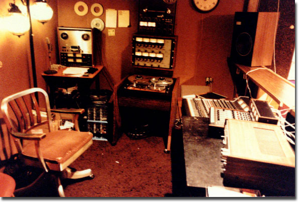 picture from Austin Custom Records studio