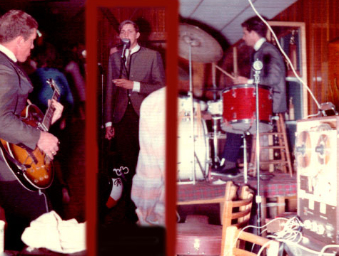 "1964 photo of the Alpine, Texas band called the ""Believers"" in Phantom Productions' vintage recording collection"