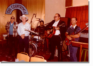 Country Music group CowPokes in El Paso, Texas