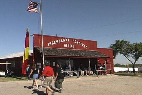 picture of cPSF Office at the Poteet Strawberry Festival