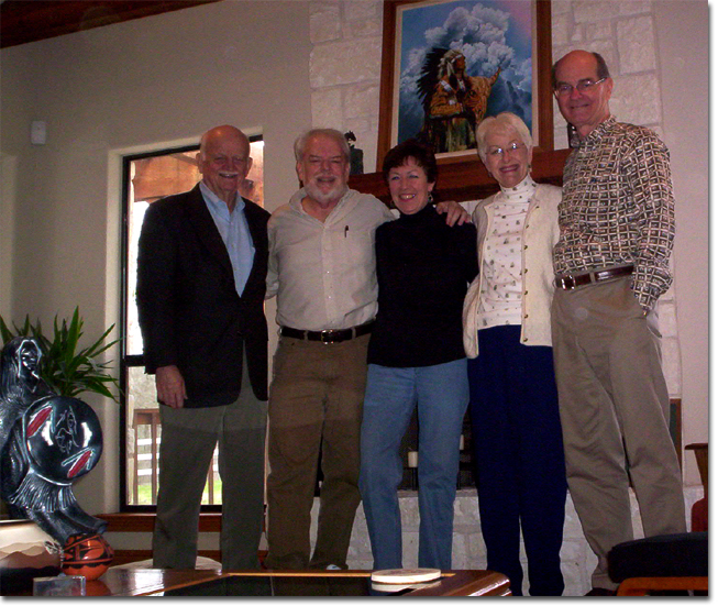 picture of Del Poling, Martin, Chris, Mary & Mike Murray