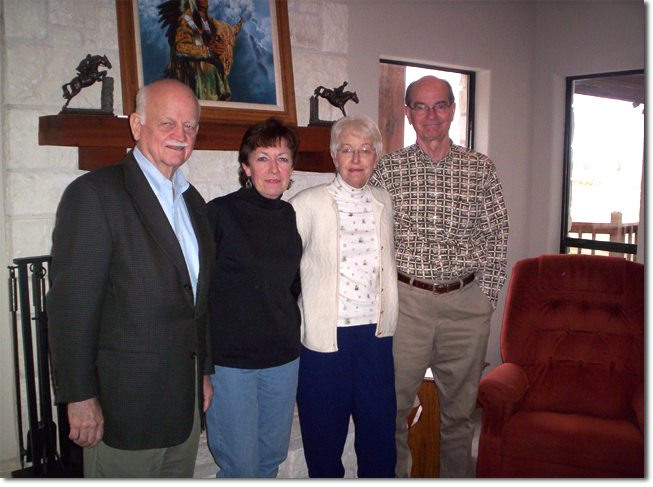 picture of Del Poling, Chris, Mary & Mike Murray