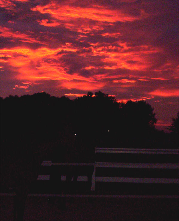 picture of July 2005 sunsets