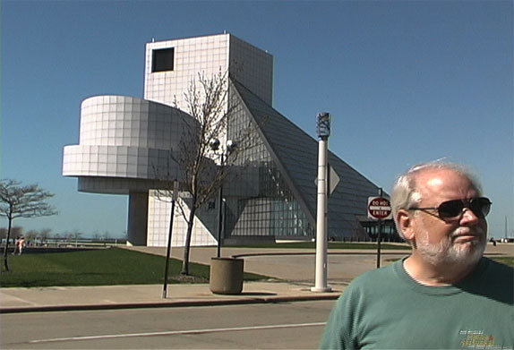 Chris & martin at Cleveland Ohio's Rock n' Roll Hall of Fame