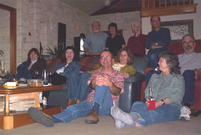 Superbowl party 2006