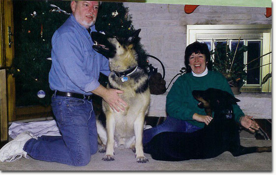 picture of bach on Christmas 2000