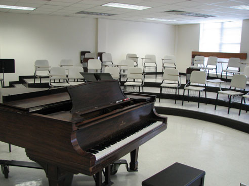Sul Ross State University Fine Arts Building Choir room
