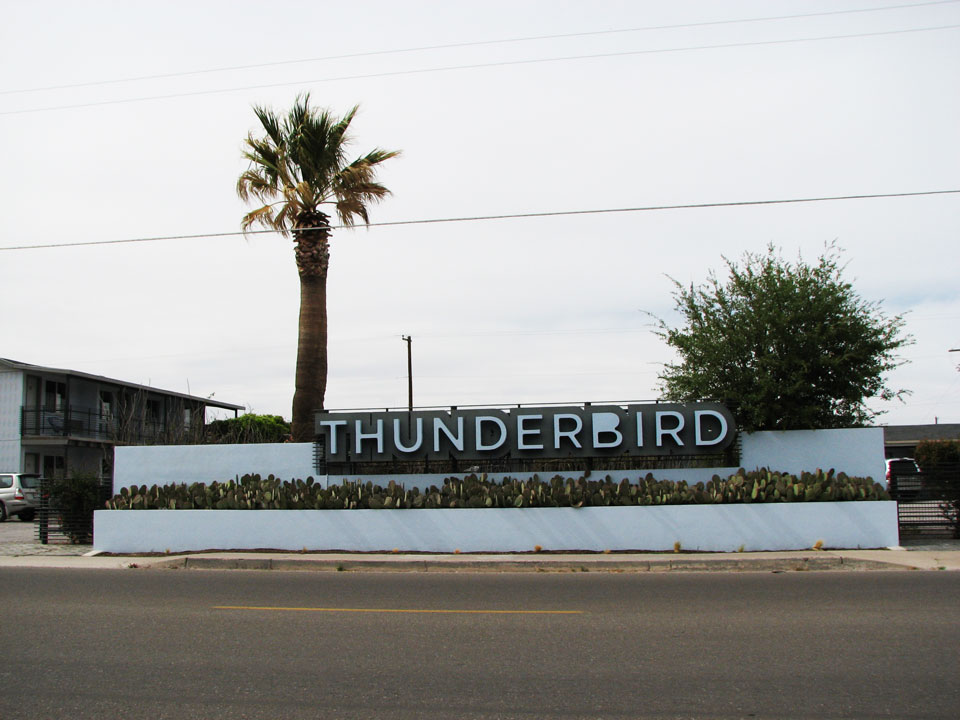 The Thunderbird Motel Marfa, Texas