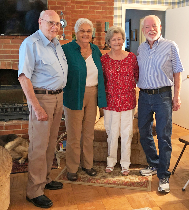 Carl Williams, Barbara Jones, Alice Williams and MArtin June 23, 2028