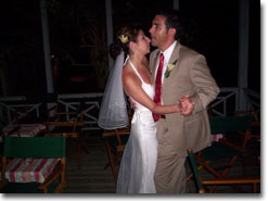 picture of Sharon and Anthony dancing after ceremony 11/27/04