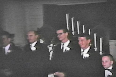 Wedding party at Carol & Martin's wedding