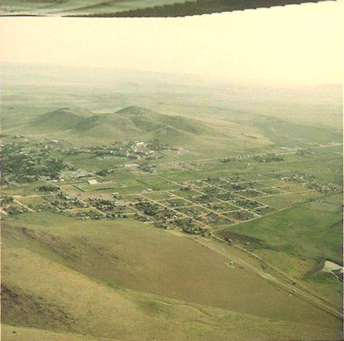 1967 Aerial picture of Alpine